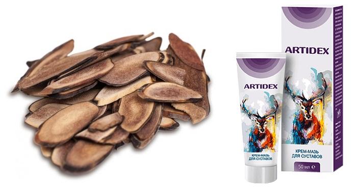 Artidex — крем-мазь для суставов