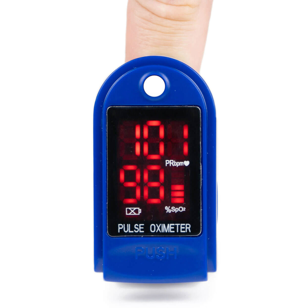 Пульсоксиметр для измерения уровня кислорода в крови