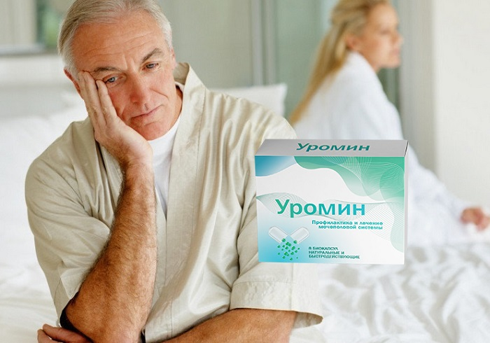Уромин — таблетки против простатита