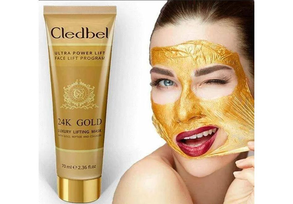 Cledbel 24K Gold – экспресс-средство для подтягивания кожи