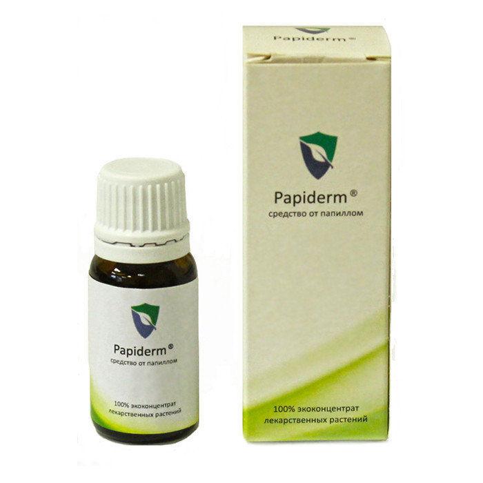 Papiderm – препарат, используемый для борьбы с папилломами